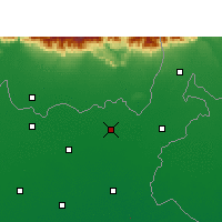 Nearby Forecast Locations - Bahadurganj - карта