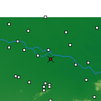 Nearby Forecast Locations - Bakhtiarpur - карта
