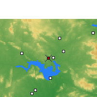 Nearby Forecast Locations - Belpahar - карта