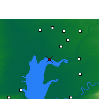 Nearby Forecast Locations - Khambhat - карта