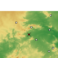 Nearby Forecast Locations - Chakradharpur - карта
