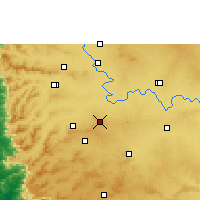 Nearby Forecast Locations - Chikodi - карта
