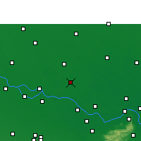 Nearby Forecast Locations - Dalsinghsarai - карта
