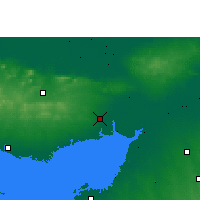 Nearby Forecast Locations - Гандхидхам - карта