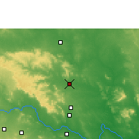 Nearby Forecast Locations - Kaghaznagar - карта
