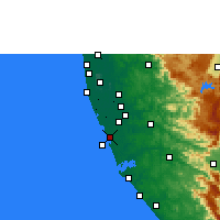 Nearby Forecast Locations - Kayamkulam - карта