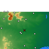 Nearby Forecast Locations - Lalgudi - карта