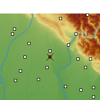 Nearby Forecast Locations - Manglaur - карта