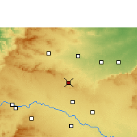 Nearby Forecast Locations - Manmad - карта