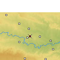 Nearby Forecast Locations - Manwath - карта