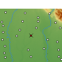 Nearby Forecast Locations - Muzaffarnagar - карта