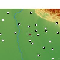 Nearby Forecast Locations - Noorpur - карта