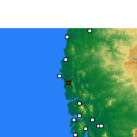 Nearby Forecast Locations - Palghar - карта