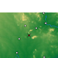 Nearby Forecast Locations - Palwancha - карта