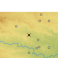 Nearby Forecast Locations - Partur - карта