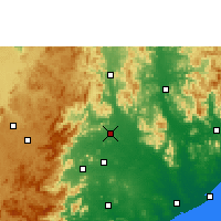 Nearby Forecast Locations - Parvathipuram - карта