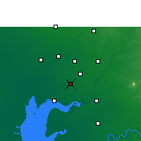 Nearby Forecast Locations - Petlad - карта