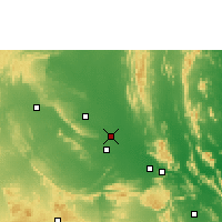 Nearby Forecast Locations - Proddatur - карта