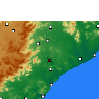 Nearby Forecast Locations - Rajam - карта