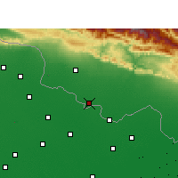 Nearby Forecast Locations - Raxaul - карта