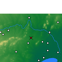 Nearby Forecast Locations - Sattenapalle - карта