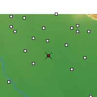 Nearby Forecast Locations - Shahabad - карта