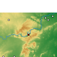 Nearby Forecast Locations - Srisailam Project - карта