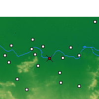 Nearby Forecast Locations - Sultanganj - карта