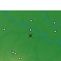 Nearby Forecast Locations - Sumerpur - карта