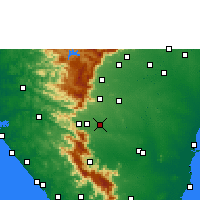 Nearby Forecast Locations - Surandai - карта