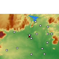 Nearby Forecast Locations - Suriyampalayam - карта