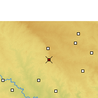 Nearby Forecast Locations - Tuljapur - карта