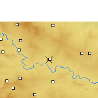 Nearby Forecast Locations - Ugar - карта