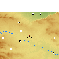 Nearby Forecast Locations - Vaijapur - карта