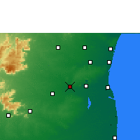 Nearby Forecast Locations - Virudhachalam - карта