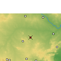Nearby Forecast Locations - Yemmiganur - карта