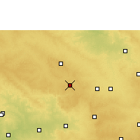 Nearby Forecast Locations - Zahirabad - карта