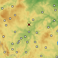 Nearby Forecast Locations - Казнеёв - карта