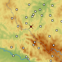 Nearby Forecast Locations - Кдине - карта
