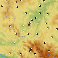 Nearby Forecast Locations - Станьков - карта