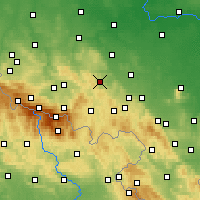 Nearby Forecast Locations - Болькув - карта