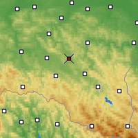 Nearby Forecast Locations - Бжозув - карта