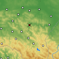Nearby Forecast Locations - Дынув - карта