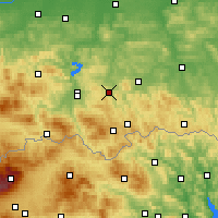 Nearby Forecast Locations - Грыбув - карта
