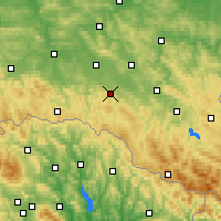 Nearby Forecast Locations - Рыманув - карта