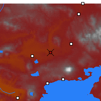 Nearby Forecast Locations - Малазгирт - карта