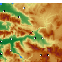 Nearby Forecast Locations - Buldan - карта
