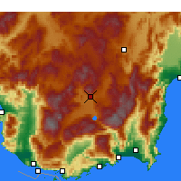 Nearby Forecast Locations - Элмалы - карта