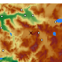 Nearby Forecast Locations - Тавас - карта