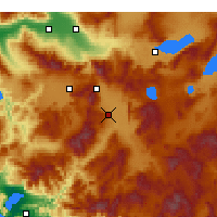 Nearby Forecast Locations - Аджипаям - карта